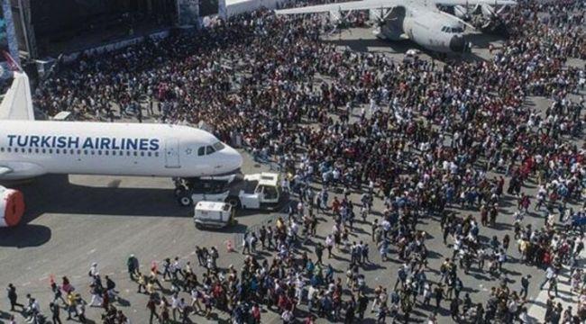 TEKNOFEST'in ziyaretçi sayısı bir milyonu geçti