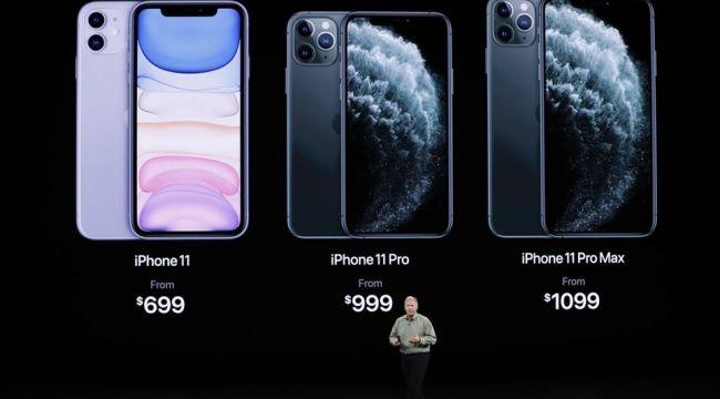 Yeni iPhone'ların ilk satışı gece başladı