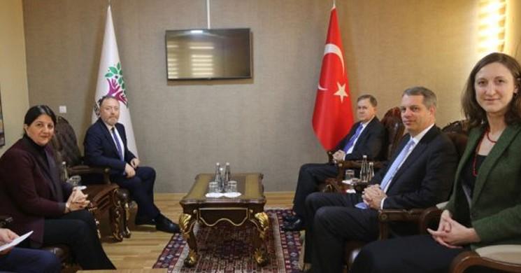 ABD Büyükelçisi Satterfield'den HDP'ye Ziyaret