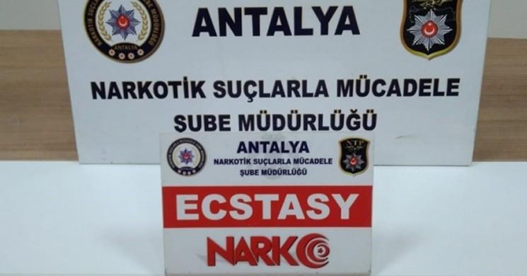 Antalya'da, Poğaça ve Şeker Kutusunda Uyuşturucu Madde Bulundu