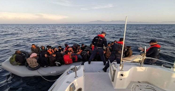Aydın'da Düzensiz Göçmen Operasyonu! 46 Kişi Yakalandı