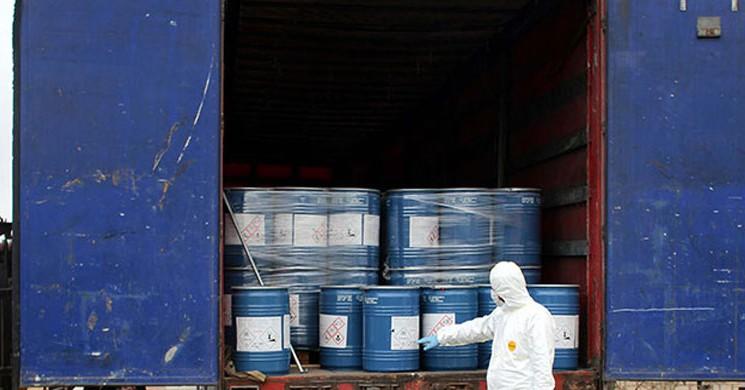 İran'a Giden Tırda 18,4 Ton Siyanür Ele Geçirildi