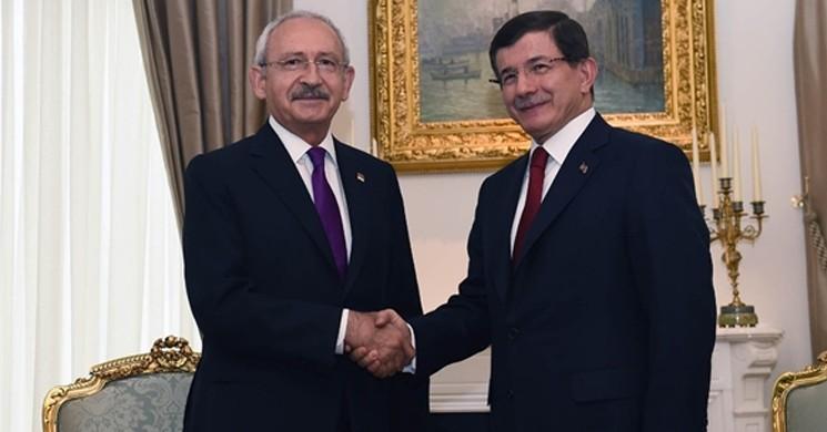 Kılıçdaroğlu'dan Ahmet Davutoğlu'na Destek!