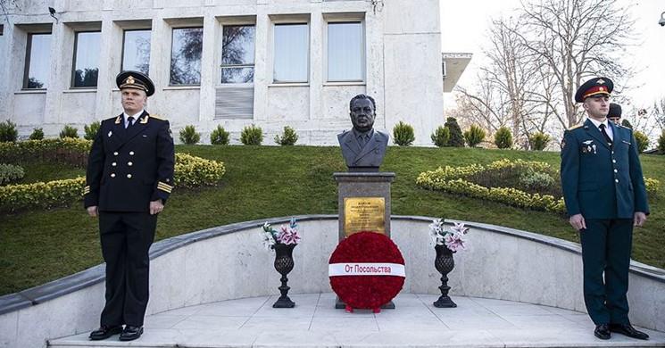 Öldürülen Rus Büyükelçi Karlov İçin Ankara'da Anma Töreni