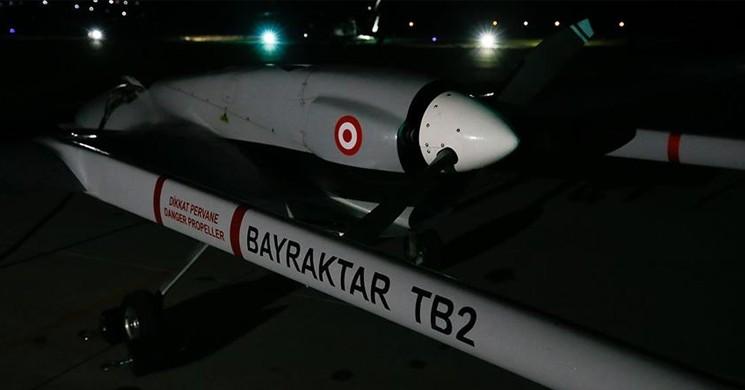 Türkiye'den KKTC Geçitkale Havalimanı'na İlk İHA Havalandı