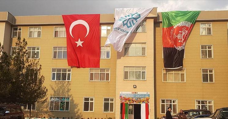 Türkiye Maarif Vakfı Afganistan'ın Başkentine İlkokul Açtı