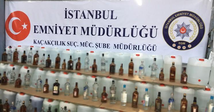 Yılbaşı Öncesi İstanbul'da Lüks Mekanlara Sahte İçki Operasyonu