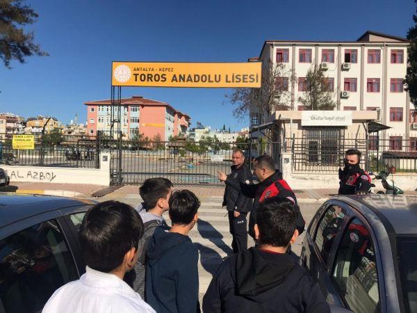 Polis okullar çevresinde kuş uçurtmuyor -1