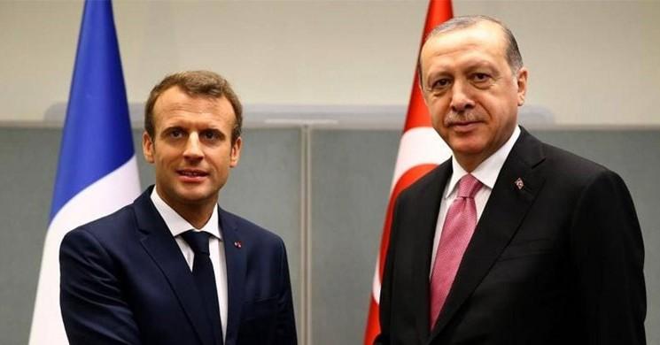 Cumhurbaşkanı Erdoğan ile Macron Libya Ve Suriye'yi Görüştü