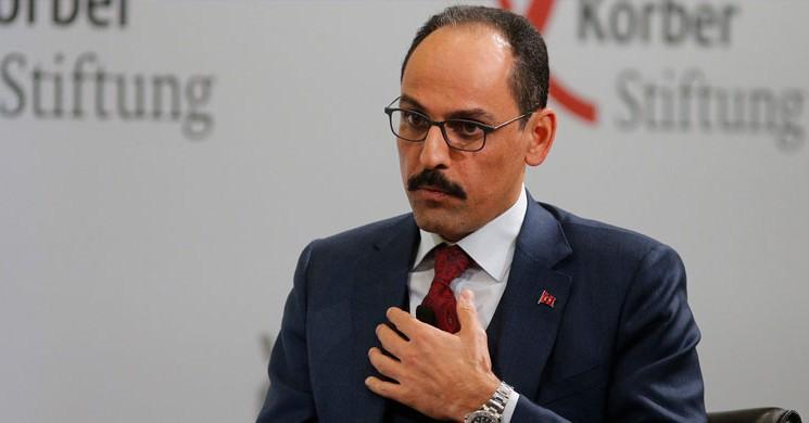 Kalın: Türkiye Sahada Ve Masada Güçlü Olmaya Devam Edecek