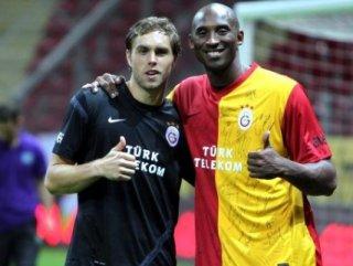 Kobe Bryant Galatasaray antrenmanına gelmişti