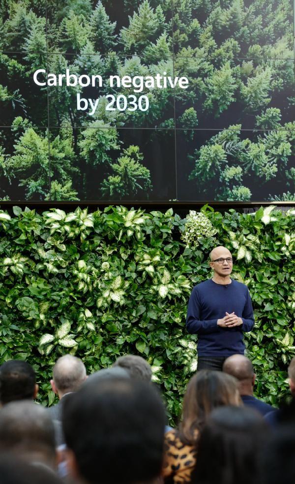 """Microsoft'tan 1 milyar dolarlık """"karbon negatif"""" yatırımı -2"""