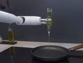 Samsung'dan kahvaltı hazırlayan robot: Bot Chef Samsung'dan kahvaltı hazırlayan robot VİDEO