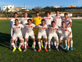 U18 Milli takımımız İtalya'ya 3 attı