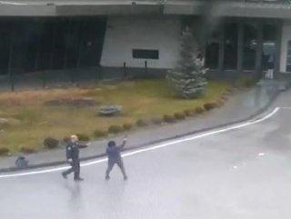 Eşiyle tartışan kadın, otogarda silahla havaya ateş etti