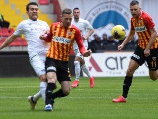 Kayserispor'la Konyaspor berabere kaldı