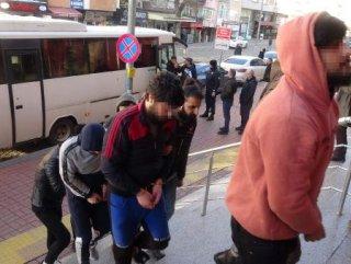 Kocaeli'de uyuşturucu operasyonu: 20 gözaltı