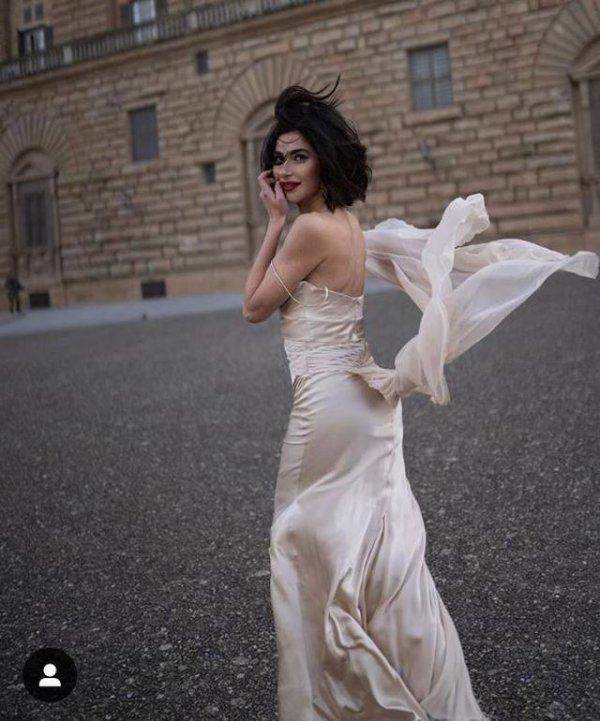 Nesrin Cavadzade'nin İtalya paylaşımları