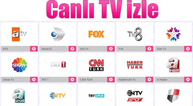 Türkiye'nin En İyi Canlı TV Sitesi - Gündem - DaHaber