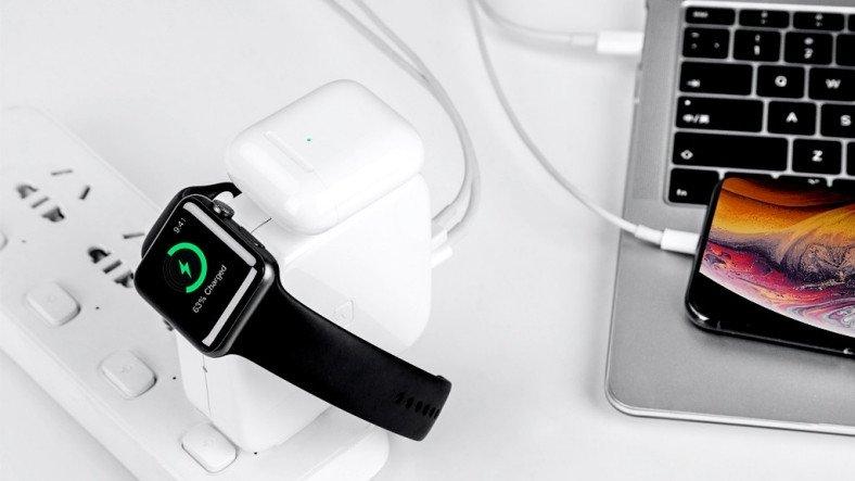 Dört Farklı Apple Cihazı Aynı Anda Şarj Etmeyi Sağlayan WATTSUGAR ile Tanışın