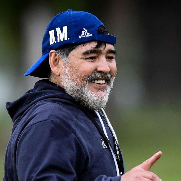 Maradona: Tekrar çalışmayı dört gözle bekliyorum