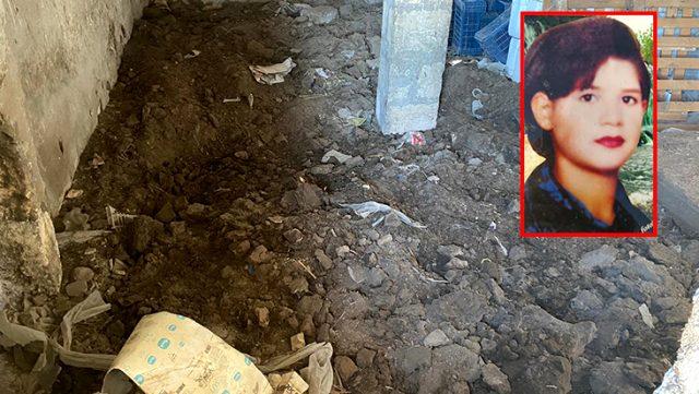 18 yıldır haber alınamayan genç kızın kaybolduğu yerde yapılan kazıda kemik parçaları bulundu
