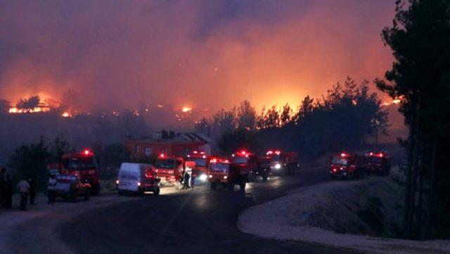 Adana Kozan'daki yangınla ilgili 3 şüpheli daha gözaltına alındı