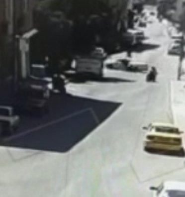 Ankara da motosiklet kazası kamerada #2