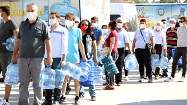 Eskişehir'de Kalabak Suyu dağıtımındaki kriz nedeniyle ESKİ Genel Müdürü istifa etti