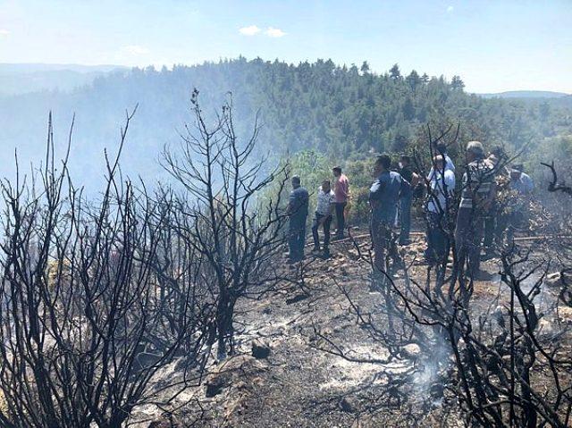 İstanbul'da askeri alanın içinde yangın çıktı! İtfaiye ekiplerinin müdahalesi sürüyor