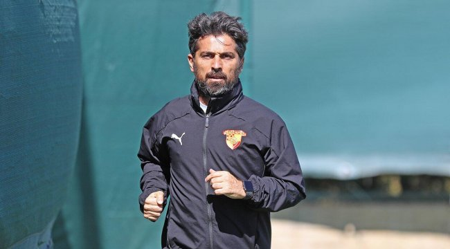 Göztepe Teknik Direktörü İlhan Palut: Fenerbahçe karşısında galip gelmek istiyoruz...