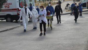 Hastanenin elektrik panosundaki arızada 12 hasta diğer hastanelere nakledildi