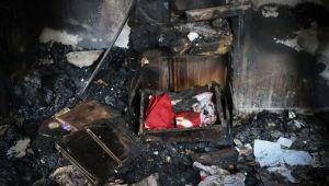Hatay'daki orman yangınında Türk bayrağı yanmadı! Ev sahibi şaşkına döndü