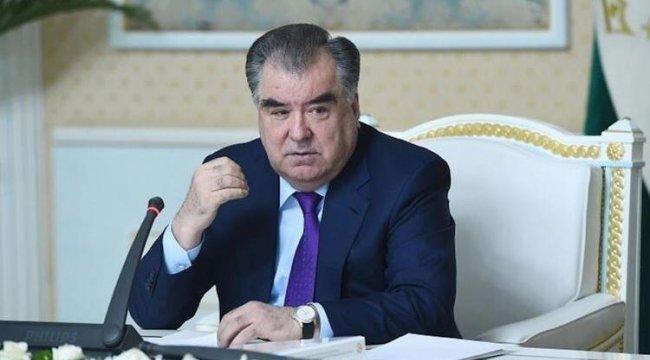 Tacikistan'da İmamali Rahman 5'inci kez cumhurbaşkanı seçildi