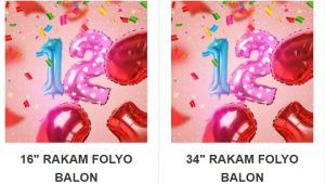 Partilerinizi Süslemek İçin Folyo Balon