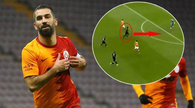 Galatasaray Göztepe maçında Arda Turan'ın golünden çok o konuşuldu! Gassama...