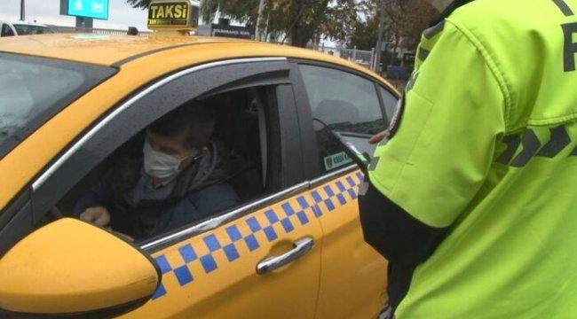 Toplu taşıma araçlarına korona virüs denetimi