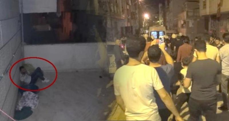 Fuhuş iddiası mahalleyi ayağa kaldırdı! Kadınlar kaçarken evdeki adam balkondan atladı