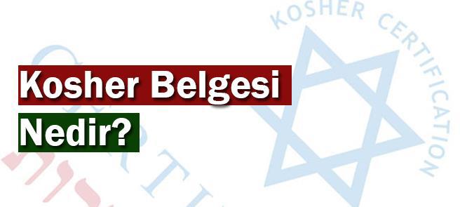 Kosher Belgesi Nedir?
