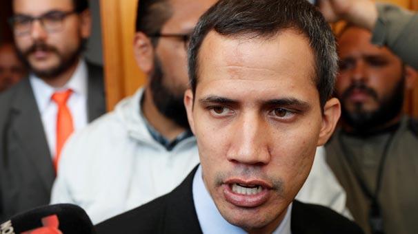 Venezuela muhalif lider Guaido'ya karşı harekete geçti